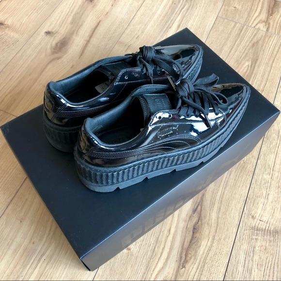 separation shoes 524cd efda1 Puma Fenty Women's Pointy Creeper Patent US Size 6